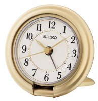 Seiko Allure Travel Snooze Light Gold
