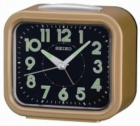 Seiko Old Timer Sweep Snooze Light Gold Brown