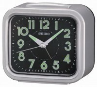 Seiko Old Timer Sweep Snooze Light Silver
