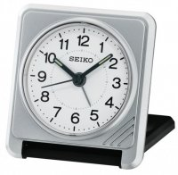 Seiko Travel Snooze Light Silver
