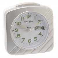 Wm.Widdop Date Light Snooze Silver