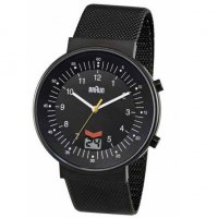 Braun RC Date Black Steel