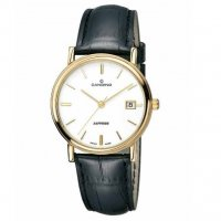 Candino Sapphire Gold Plated White 36mm