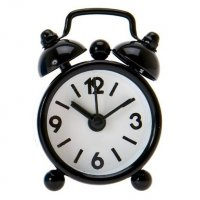 Present Time Alarm XXS Black