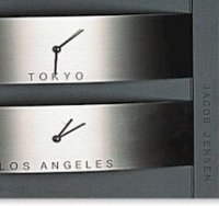 Jacob Jensen World Time Clock 310