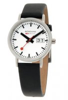 Mondaine Classic Brushed w/Date 33 mm