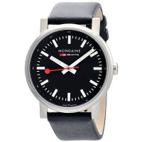 Mondaine EVO SBB Night Vision Black Brushed 40 mm
