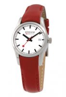 Mondaine Retro Polished Red 28 mm
