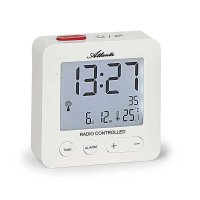 Atlanta Easy Alarm RCC Light Snz Date Temp White