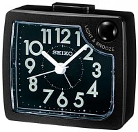 Seiko Front Light Snooze Black