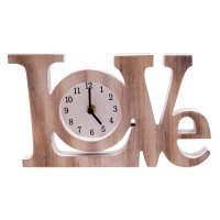Wood Love Clock