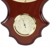 Ship Hygrometer Thermo Clock