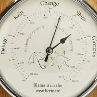 Weatherman Barometer