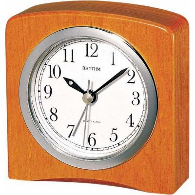 Rhythm Square Wood Alarm