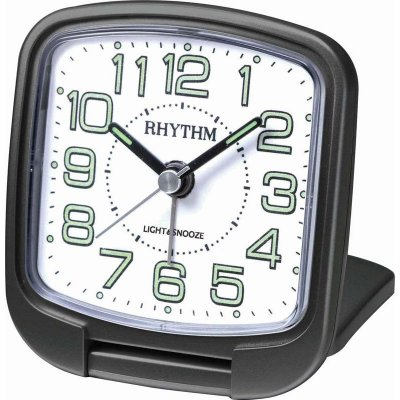 Rhythm Travel Snooze Light Black