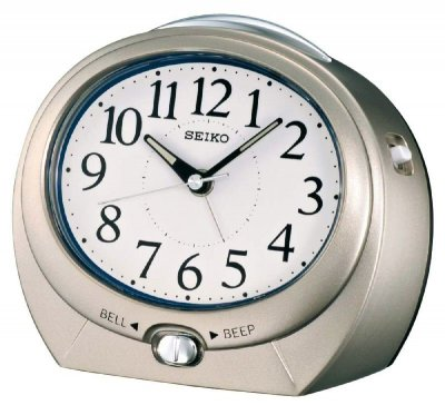 Seiko Oval Beep Bell LOUD Snooze Sweep