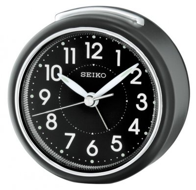 Seiko Perfect Sweep Snooze Light Black