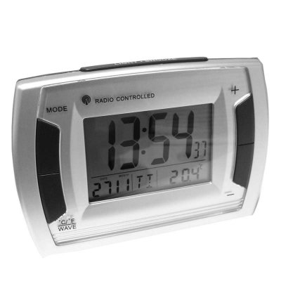 Alarm RC LCD Thermo Day Date