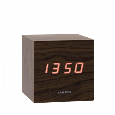 Karlsson Mini Cube LED Brown