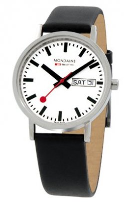 Mondaine Classic Polished D/D 36 mm