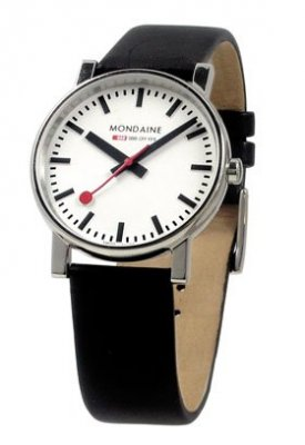 Mondaine EVO SBB Big Date Polished 35 mm