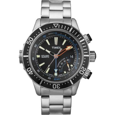 Timex Intelligent Quartz Depth Gauge Thermo 46mm