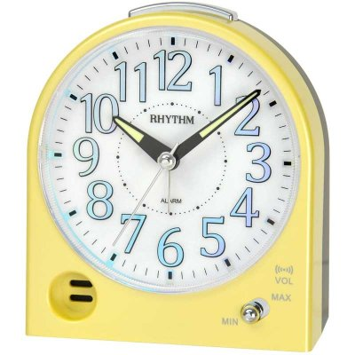 Rhythm Volume Snooze Sweep Yellow Metallic
