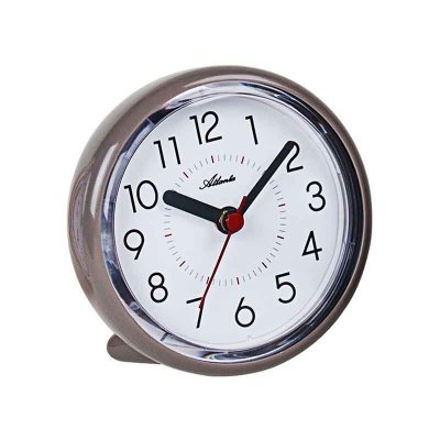 Bathroom Mini Clock Chrome 10
