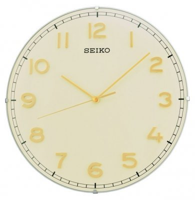 Seiko Dome Sweep Creme Gold Numbers 30