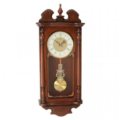 Royal Ornament Regulator Walnut