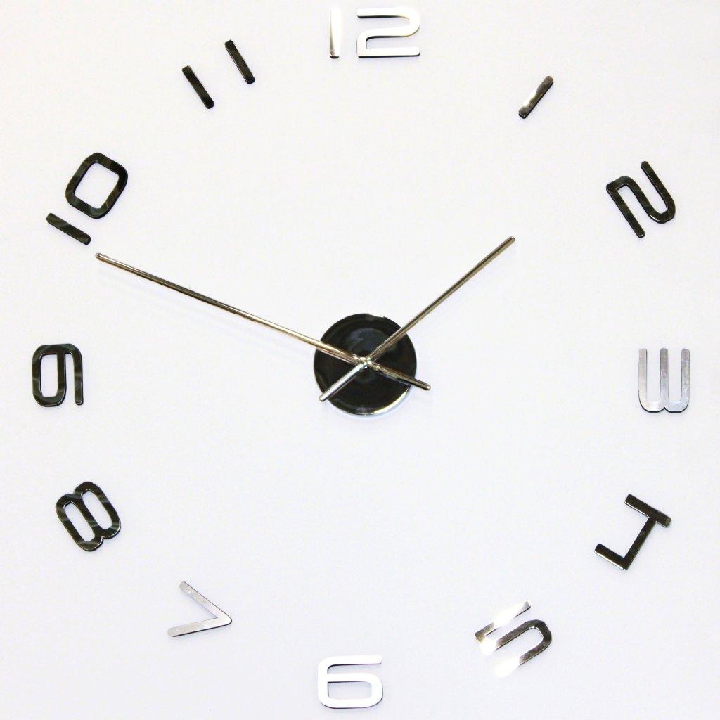 ur til væg med løse tal