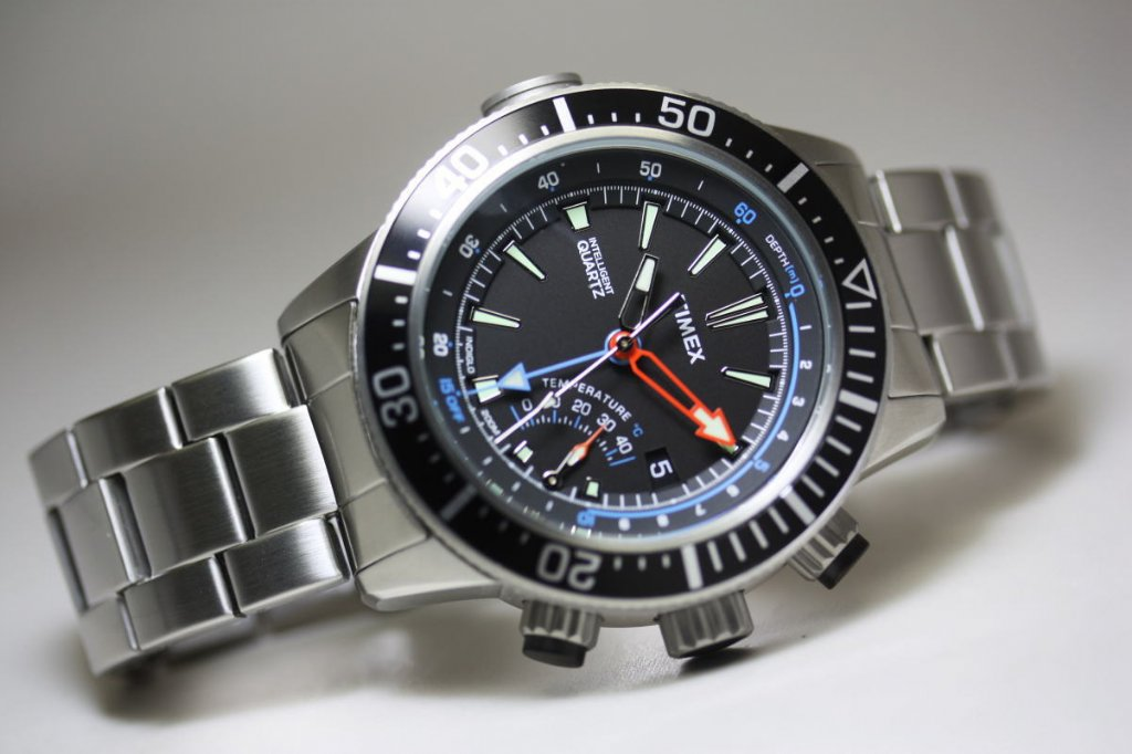 Ure Og Armb 229 Ndsure Timex Intelligent Quartz Depth Gauge