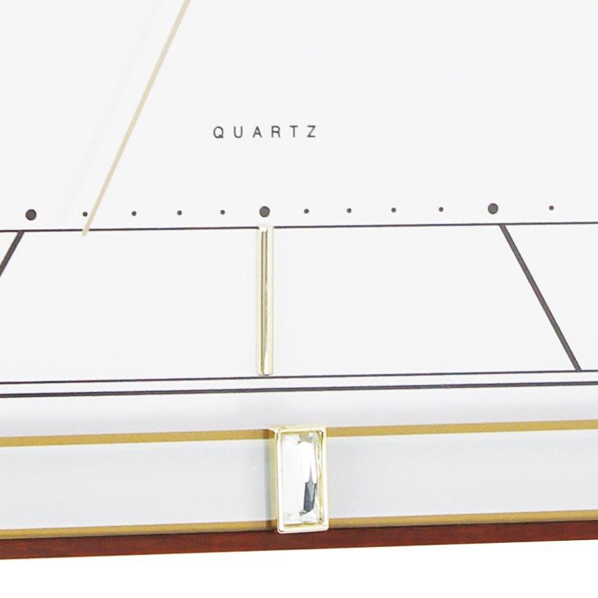 v gur london clock company square deco sweep walnut v gure priisma. Black Bedroom Furniture Sets. Home Design Ideas